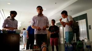 Lab Warming - 08/28/2014